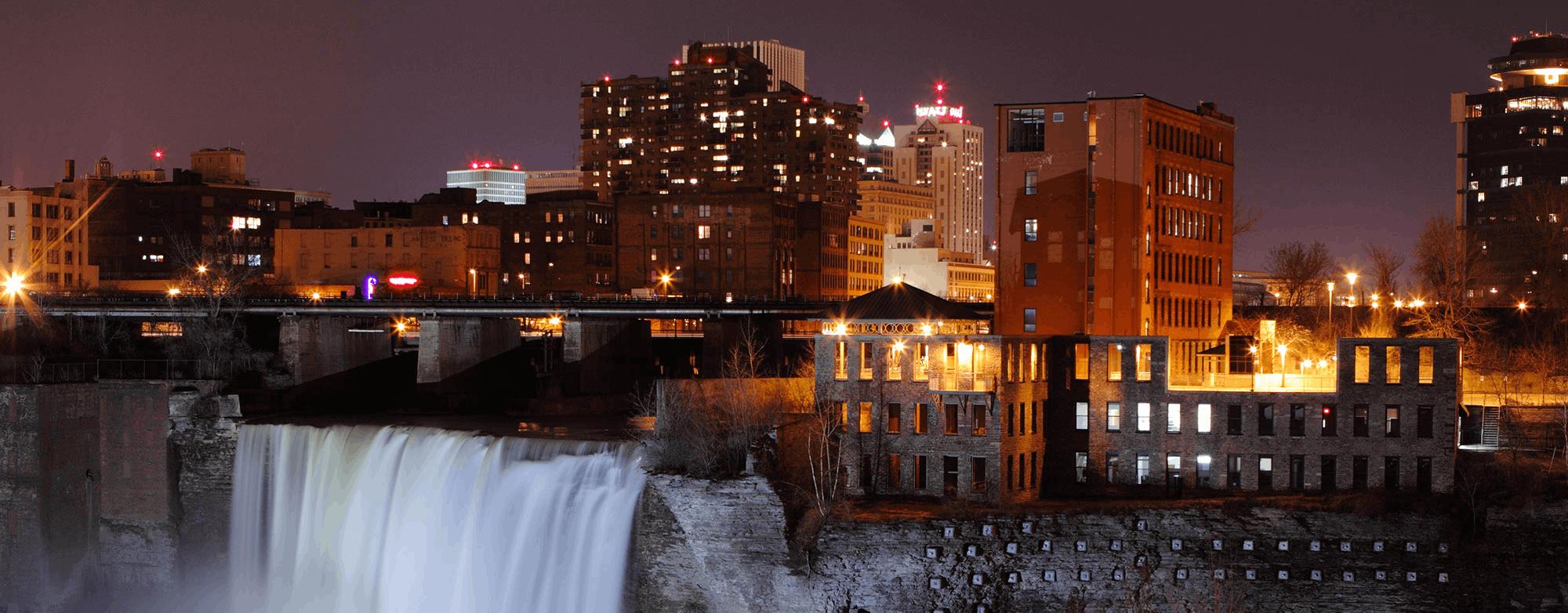 Rochester NY Web Design SEO High falls rochester ny