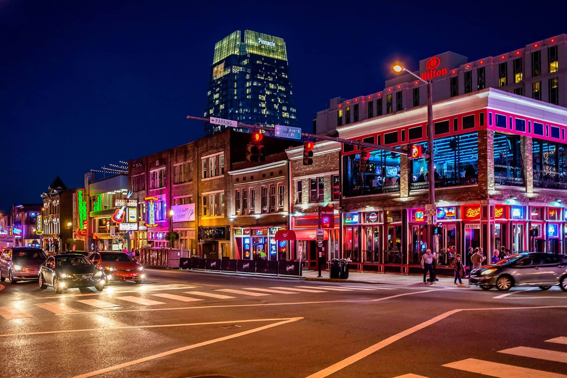 Music Row Nashville Atomic Design