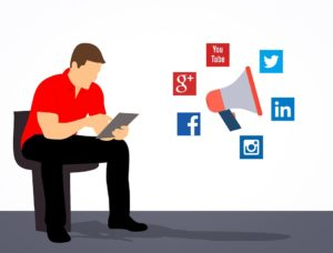 Social media marketing services social media management