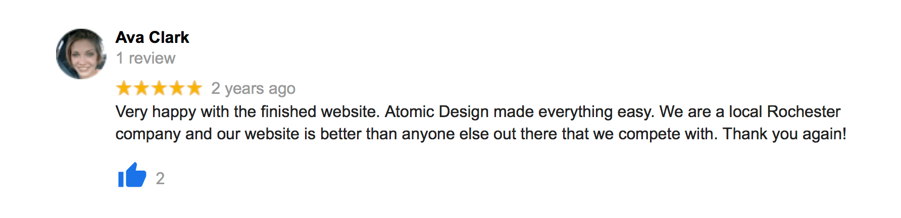 Reviews 14 rochester seo web atomic design reviews