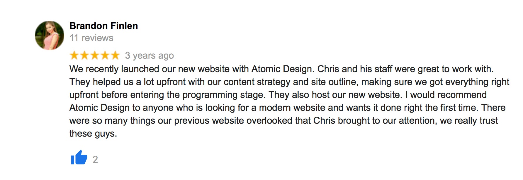 Reviews 15 rochester seo web atomic design reviews